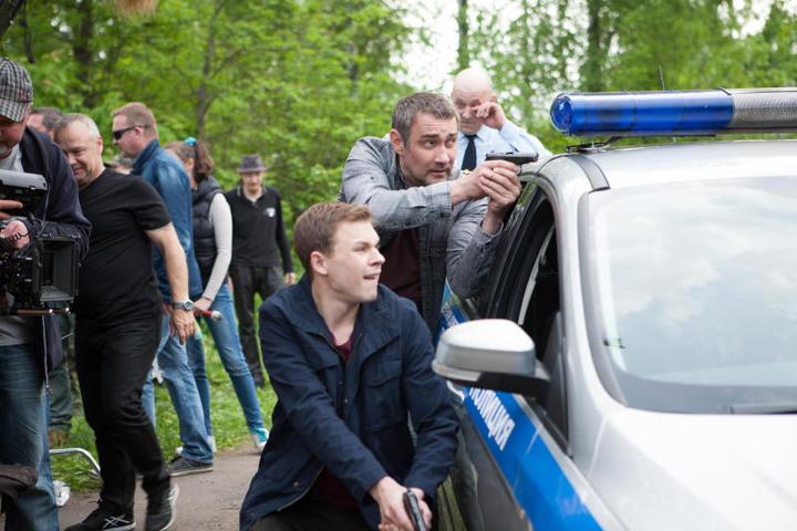 В новом сезонеглавный герой будет не толькорасследовать преступления / кадр со съемок предоставлен пресс-службой