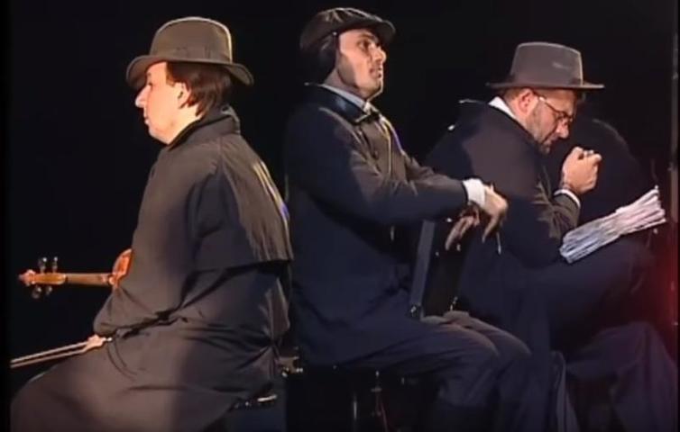 Пьеса позднего Толстого«Крейцерова соната» демонстрирует, как в одном человеке может сочетаться физическая мощь, страстная натура и робкая душа / Cкриншот с видео YouTube-канала SmelianskyAnatoly