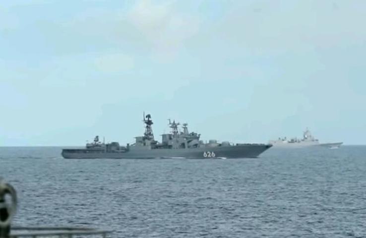 Американское издание The National Interest назвало российский флот одним из сильнейших в мире наравне с США и Китаем / Скриншот видео телеканала «Звезда»