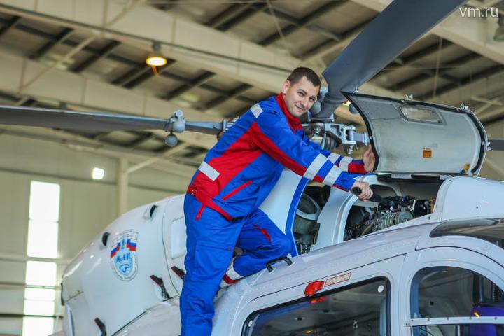 На фото: Алексей Орлов, старший инжинер станции по обслуживанию авиационной техники. / Alexey Orlov