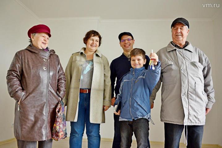Более 5 тысяч семей переедут по программе реновации до конца года
