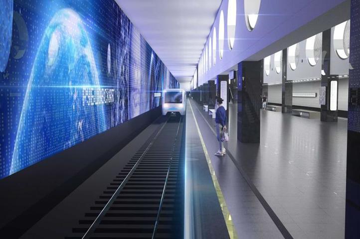 Проект станции метро«Рубцовская» / https://stroi.mos.ru