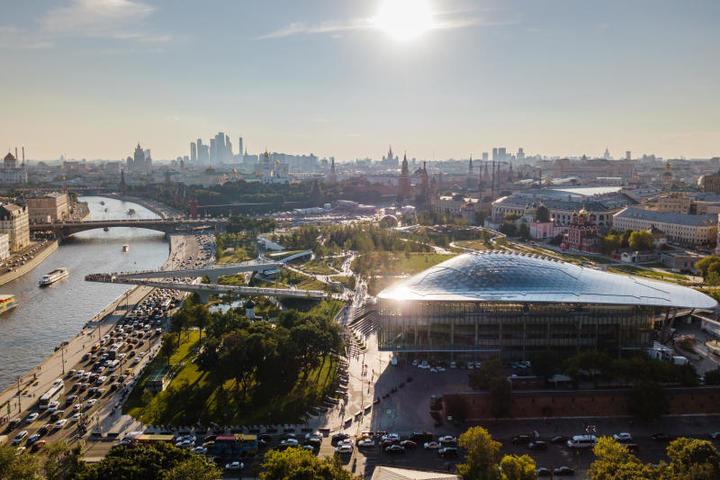 Парк«Зарядье» / официальный сайт мэра Москвы