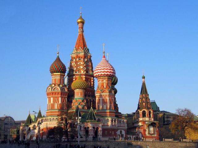 Вокруг собора на Красной площади расположены шесть уличных стел с навигацией / www.pixabay.com