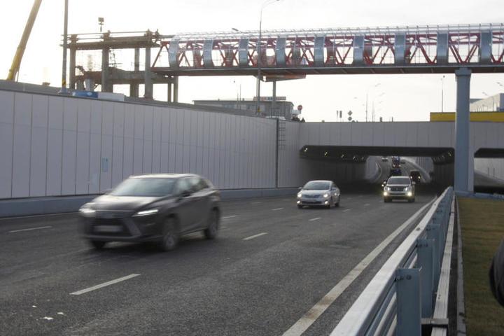 Весной строители сдадут ещё два пешеходных моста через Варшавское шоссе / официальный сайт мэра и правительства Vосквы