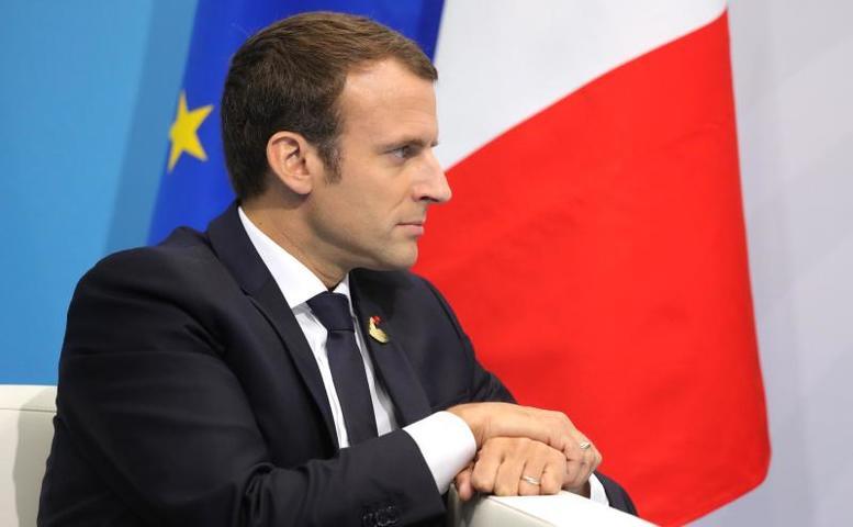 Президент Франции Эммануэль Макрон: Это скорбь для целой нации / Официальный сайт президента РФ