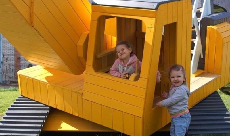 Оригинальную детскую площадку создали в Нескучном саду / http://www.park-gorkogo.com