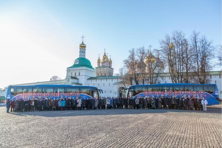 Автобусы курсируют между столичными музеями, храмами и монастырями, а также памятниками истории и архитектуры города / Фото предоставлено пресс-службой «Мосгортранса»