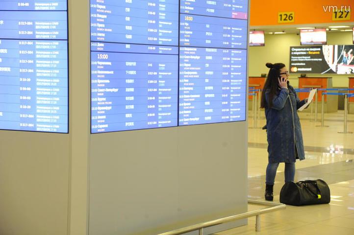 В аэропорту Шереметьево задержали 11 рейсов / Светлана Колоскова