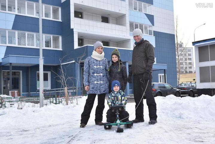 Отделку квартир начали в доме по программе реновации в СВАО