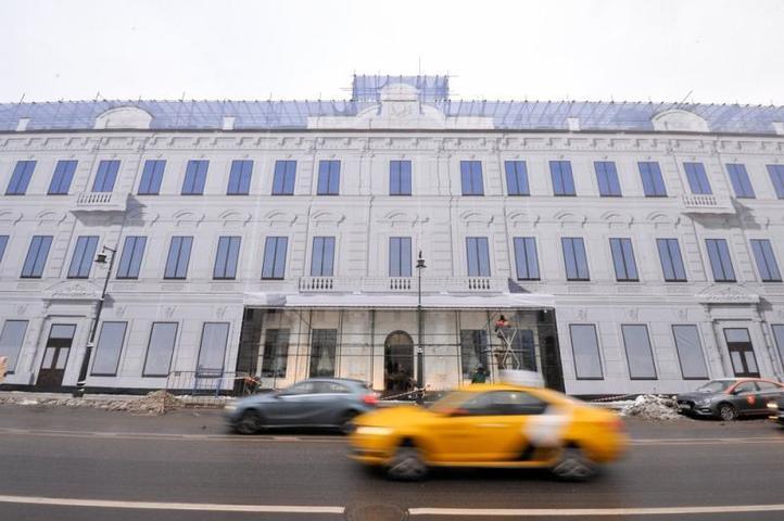 Изначально самые дорогие элементы этого здания были в достаточно хорошем состоянии / Авилов Александр / АГН «Москва»