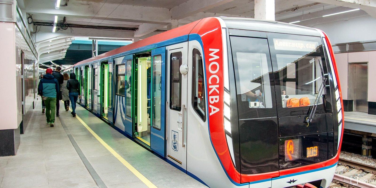 Сцепка Шарфенберга оказалась настолько удачной, что ее решили применить в Московском метрополитене