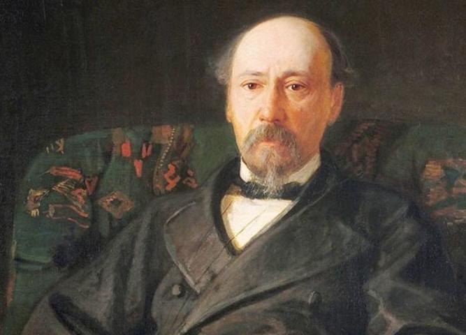 Портрет Николая Алексеевича Некрасова / http://electro.nekrasovka.ru/