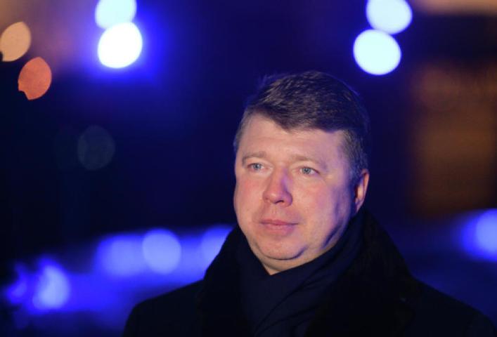Владимир Черников в парке искусств «Музеон». 28 декабря 2015 года / Владимир Астапкович/РИА Новости