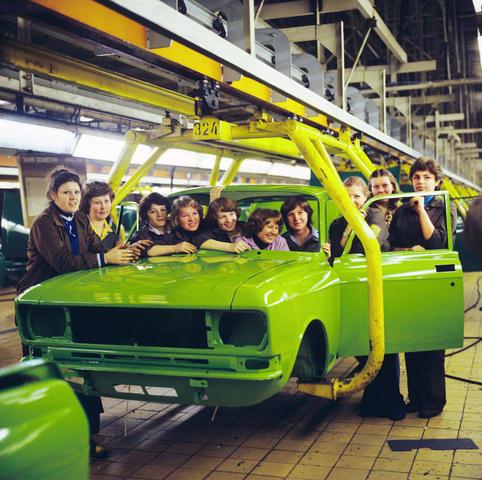 Передовая бригада столичного автомобильного завода / ИТАР-ТАСС/Архив