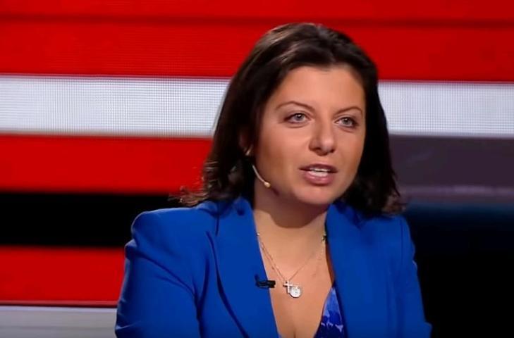Маргарита Симоньян в 2017 году вошла в рейтинг 100 самых влиятельных женщин мира по версии журнала Forbes / Скриншот с видео Россия 1
