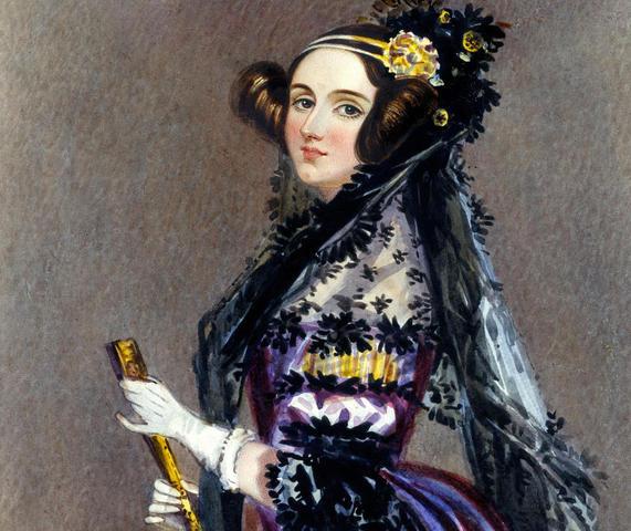 Акварельный портрет Ады Кинг, графини Ловелас / Альфред Эдвард Шалон / Wikipedia / Общественное достояние