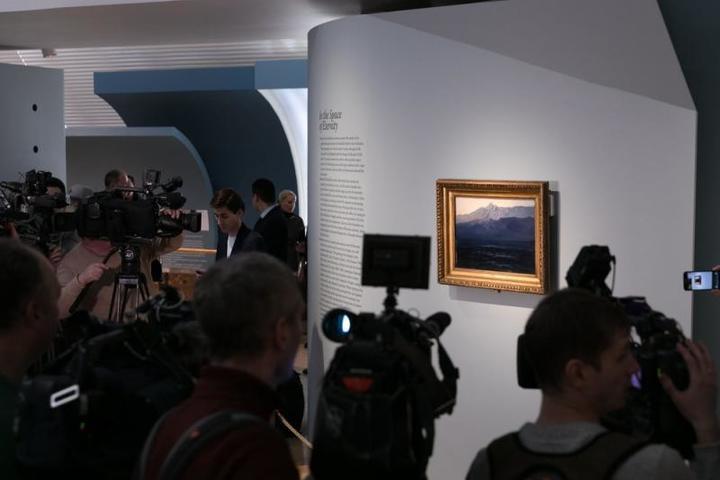 Гендиректору Третьяковской галереи Зельфире Трегуловой объявили выговор по случаю происшествия / предоставлено пресс-службой Третьяковской галереи