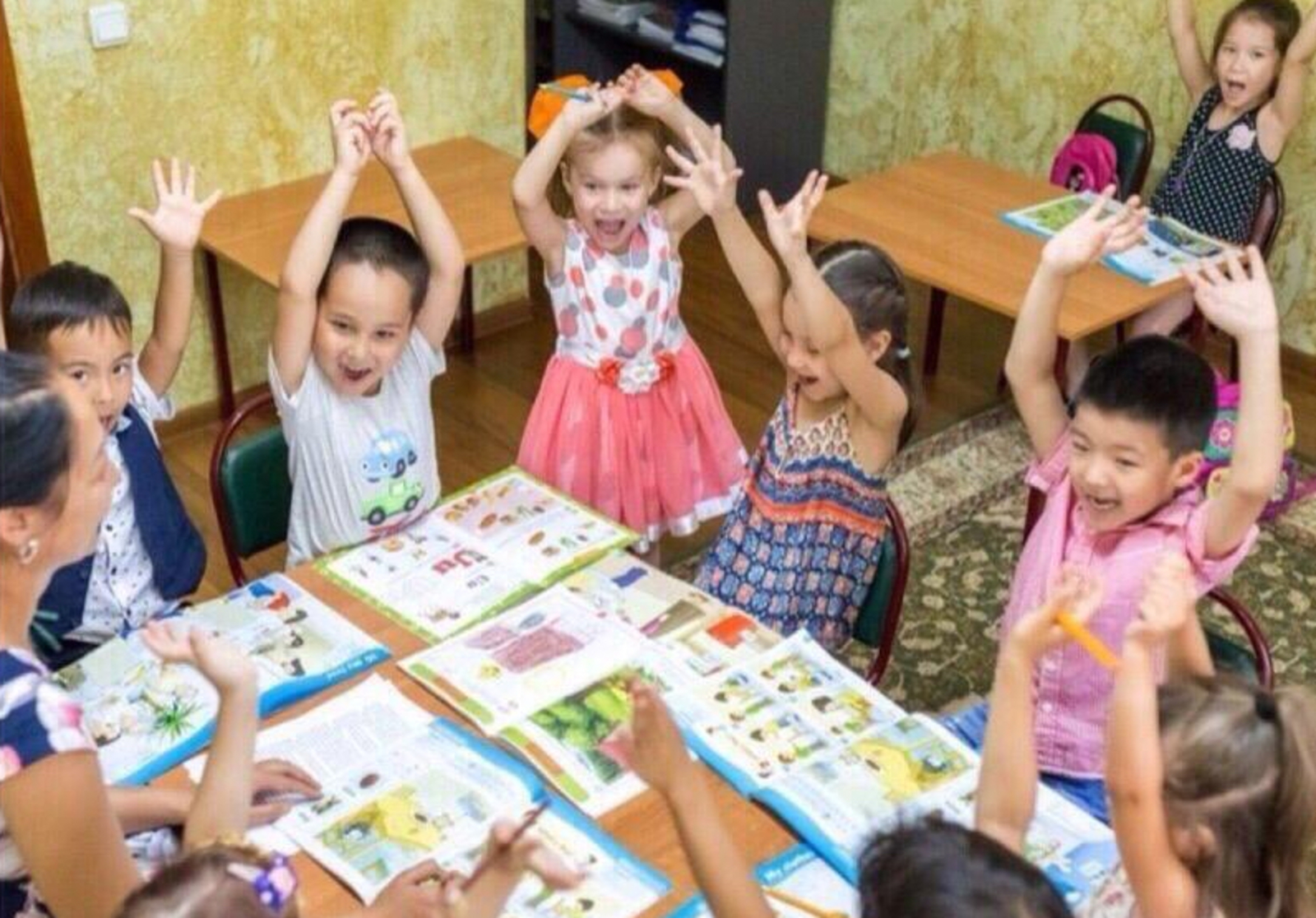 Детей готовят к обучению в начальной школе