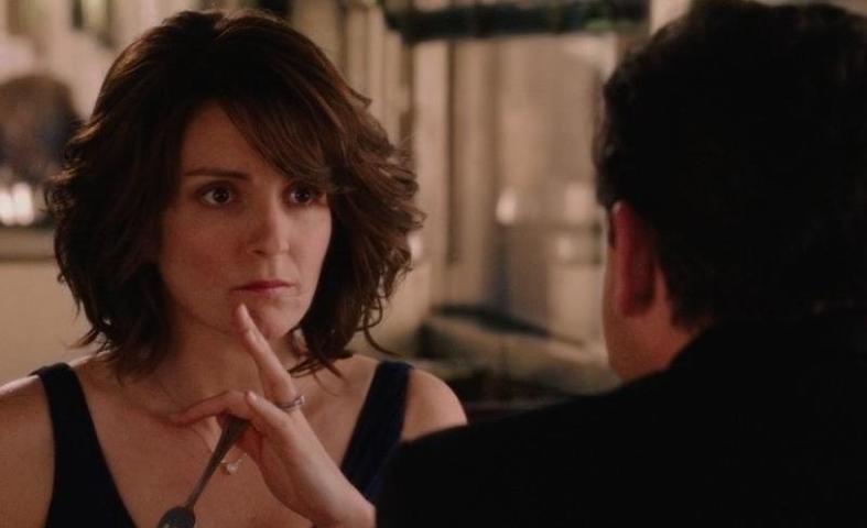"""Не стоит полностью воспринимать всерьез то, что обсуждалось при переписке до тех пор, пока не произойдет несколько встреч / кадр из фильма """"Безумное свидание"""""""