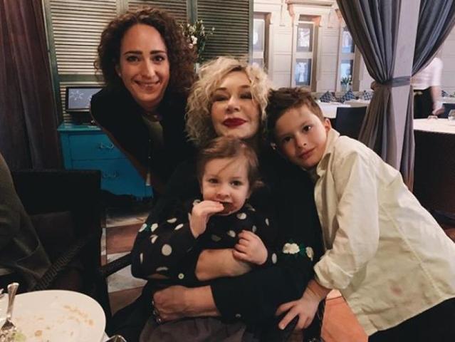 ДляТатьяны Васильевой встречи с внуками -самое большое счастье / Официальная страница Татьяны Васильевой в Instagram