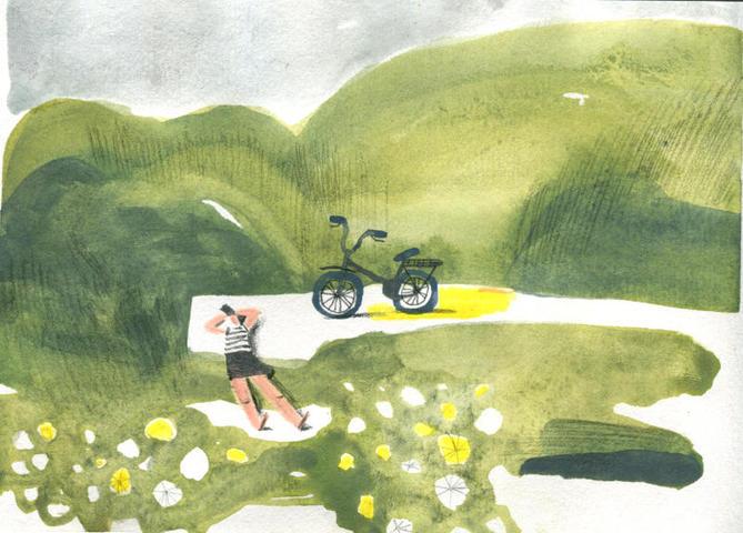 Работы Ольги Пташник излетнего цикла картин / иллюстрации Ольги Пташник