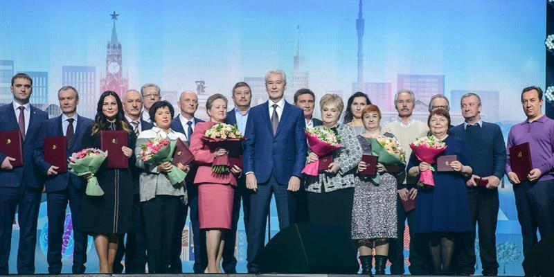 Ветераны сферы бытового обслуживания были награждены почетными грамотами / официальный сайт мэра Москвы