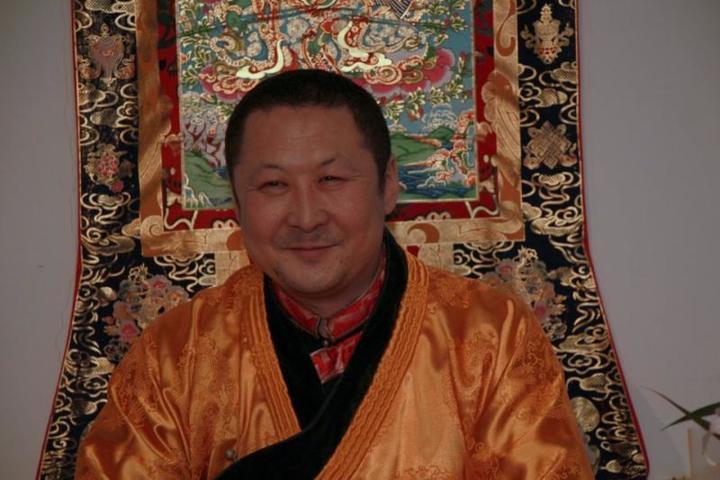 Спектакль Алексея Тенчояблагословили тибетские монахи / Из личного архива Алексея Тенчоя