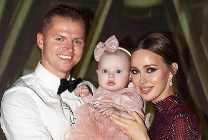 Дмитрий Тарасов и Анастасия Костенко стали родителями в прошлом году