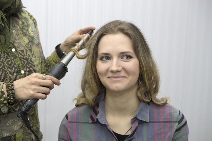 У нашей героини роскошные волосы / Сергей Каптилкин, «Вечерняя Москва»