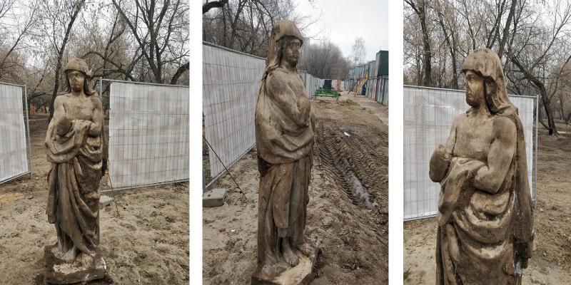 Однако доподлинно до сих пор неизвестно, когдаскульптура появилась и кто ее автор / Официальный сайт Мэра Москвы (mos.ru)