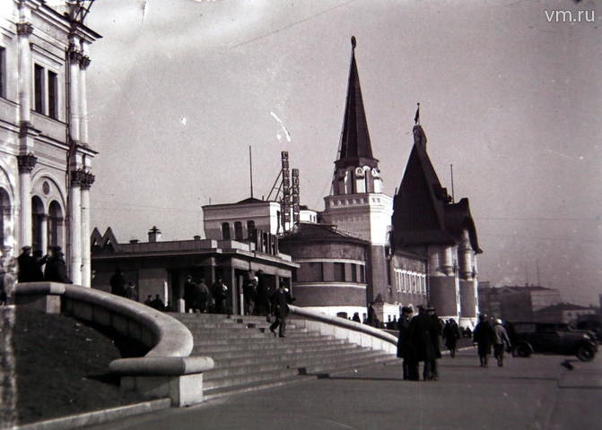 """Комсомольская площадь в 1936 году / Сергей Шахиджанян, """"Вечерняя Москва"""""""