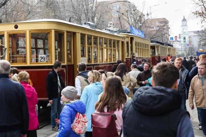 Вагоны были открыты для горожан / Агентство городских новостей «Москва»