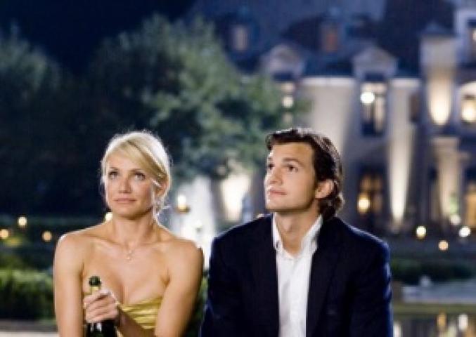 Порой девушка уходит от парня, потому что он сделал предложение слишком странным способом / Кадр из фильма «Однажды в Вегасе» (2008)