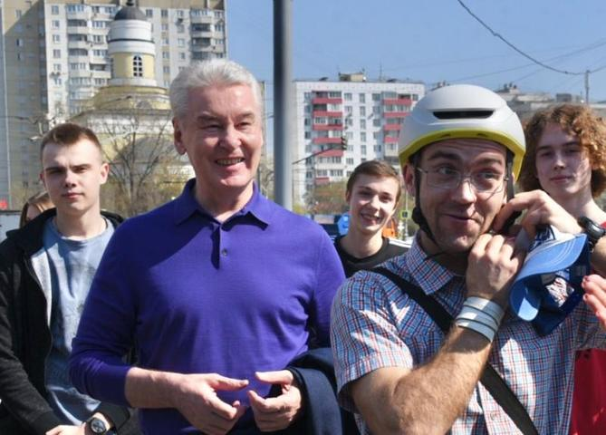 Мэр Москвы рассказал о благоустройстве набережных столицы / Владимир Новиков, «Вечерняя Москва»