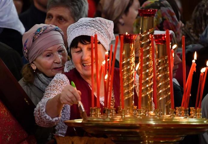 Сегодня великий двунадесятый праздник — Воздвижение Креста Господня / агентство городских новостей «Москва»