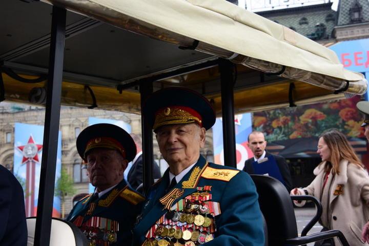 Конечно, самое большое внимание ветераны получают именно на 9 мая / Пелагия Замятина, «Вечерняя Москва»