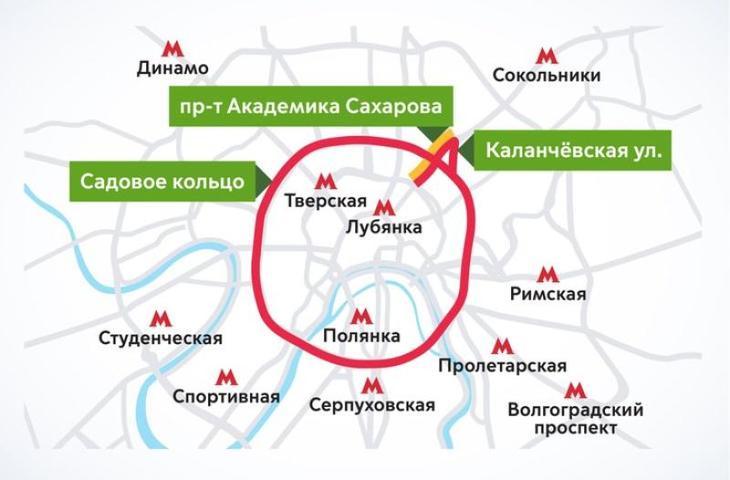 Ряд улиц перекроют из-за полумарафона 19 мая / пресс-служба Информационного центра Транспортного комплекса города Москвы
