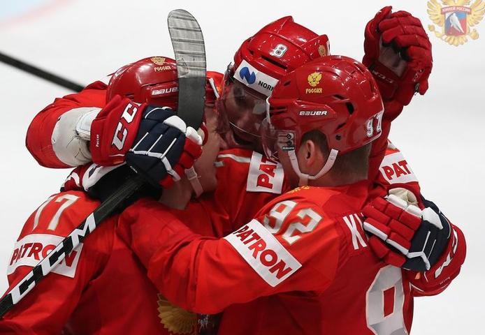 Сборная России 23 мая сыграет против национальной команды США, начало матча — 17:15 мск / Федерация хоккея России (http://fhr.ru)