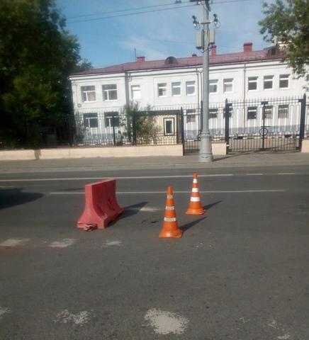 Причина провала грунта выясняется / Пресс-служба префектуры центрального округа Москвы