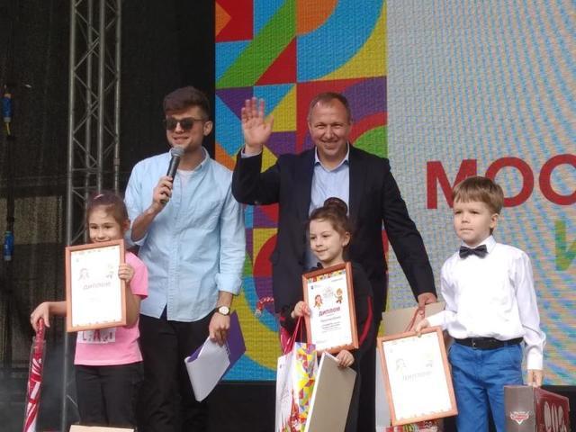 Определены победители конкурса детского рисунка «Москва – для жизни, для детей»