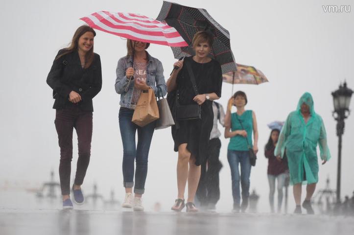 Местами в Москве пройдет дождь / Антон Гердо, «Вечерняя Москва»