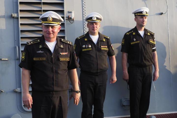 Крейсер снова в море / Антон Гердо, «Вечерняя Москва»