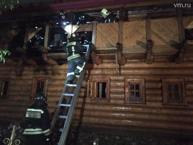 Площадь возгорания составила менее 15 квадратных метров / Сергей Шахиджанян, «Вечерняя Москва»