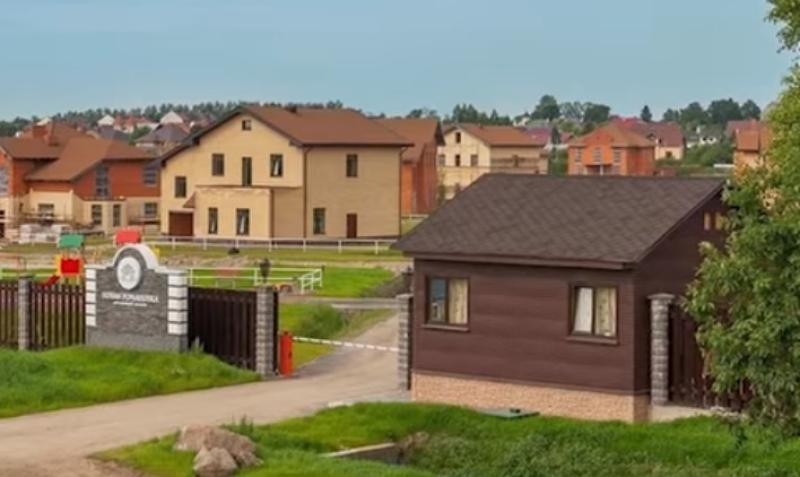 Поселок, где была убита Ирина Соколова / Скриншот видео на YouTube (https://www.youtube.com/watch?v=GWwguO3xVog)