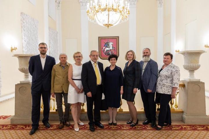 Еще одну значимую премию в области медицины получили 44 медицинских работника столицы / https://twitter.com/mossobyanin