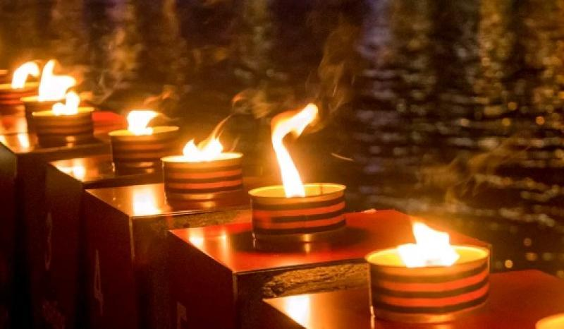 В память о каждом дне войны зажгут 1418 свечей / взято с официального сайта мэра Москвы
