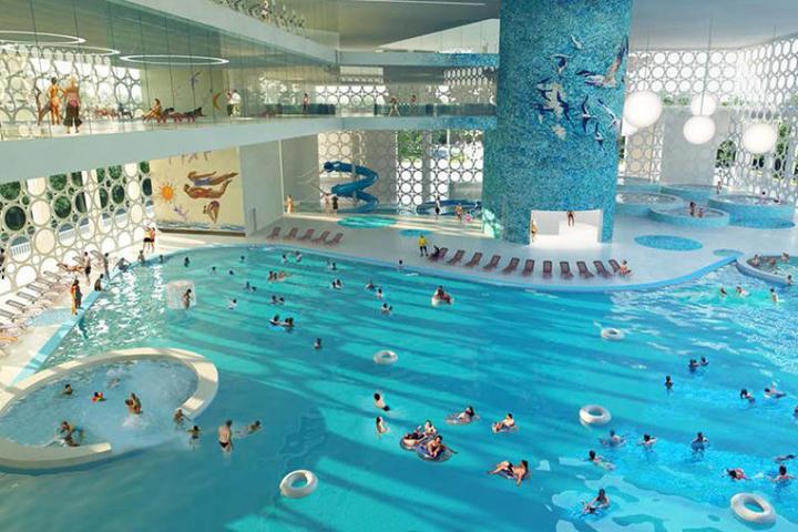 Посещать комплекс водных видов спорта смогут до десяти тысяч человек ежедневно, причем делать это можно круглый год / Официальный сайт мэра Москвы (https://www.mos.ru/)