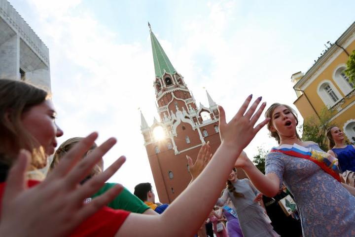 20 июня ребята отметят выпускной / Кирилл Зыков/АГН «Москва»