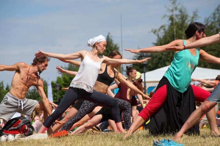 По статистике, самые популярные занятия у горожан: фитнес, йога, скетчинг / Сергей Ведяшкин/АГН «Москва»